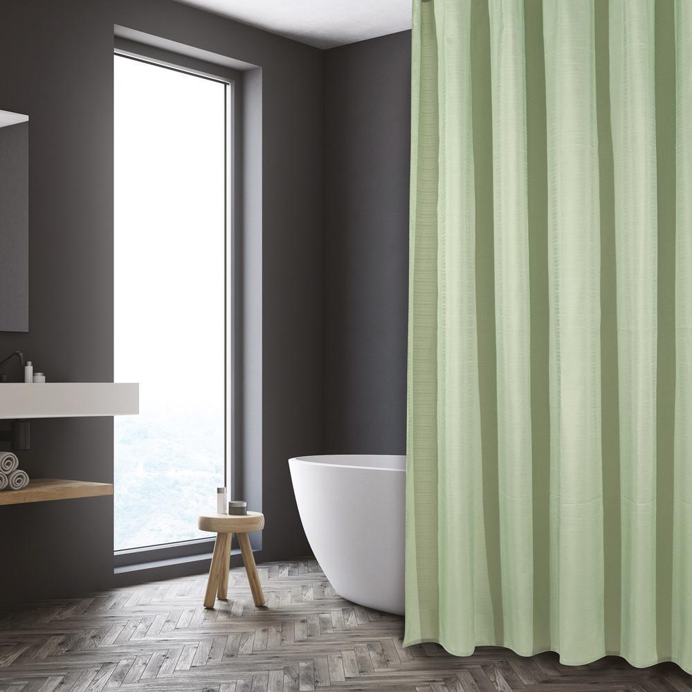 Κουρτίνα Μπάνιου Polyester 240×180εκ. Bath 1088 Das Home (Ύφασμα: Polyester, Χρώμα: Μέντα) – Das Home – 420124001088