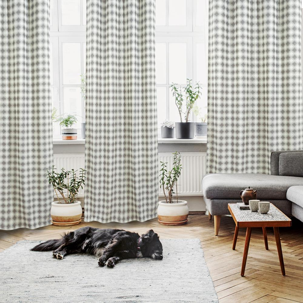 Κουρτίνα Υφασμάτινη Με Τρούκς 140×260εκ. Curtain Line Das Home 2113 (Ύφασμα: Polyester, Χρώμα: Γκρι) – Das Home – 420142602113