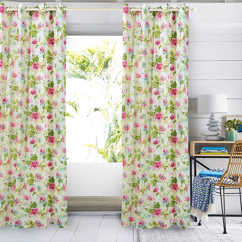 Κουρτίνα Υφασμάτινη 140x280εκ. Das Home Curtain Collection 2060 - Das Home - 420 λευκα ειδη σαλόνι κουρτίνες