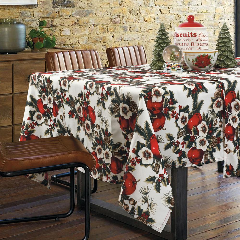 Χριστουγεννιάτικο Τραπεζομάντηλο Polyester 140×180εκ. 0569 Das Home (Ύφασμα: Polyester, Χρώμα: Κόκκινο) – Das Home – 426214150569