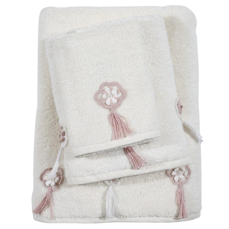 Πετσέτες Μπάνιου Σετ 3τμχ Das Home Daily 0374 - Das Home - 530708180374 λευκα ειδη mπάνιο πετσέτες μπάνιου