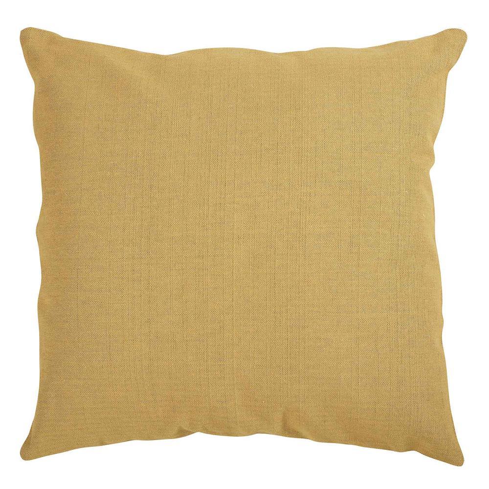 Διακοσμητικό Μαξιλάρι Βαμβακερό 40×40εκ. 0216 Das Home (Ύφασμα: Βαμβάκι 100%, Χρώμα: Ώχρα) – Das Home – 533540400216