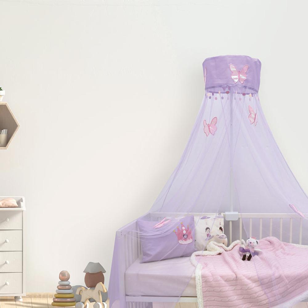 Κουνουπιέρα Κούνιας 200×500εκ. με Βάση Das Baby 6442 (Ύφασμα: Polyester, Χρώμα: Ροζ) – Das Baby – 600022206442