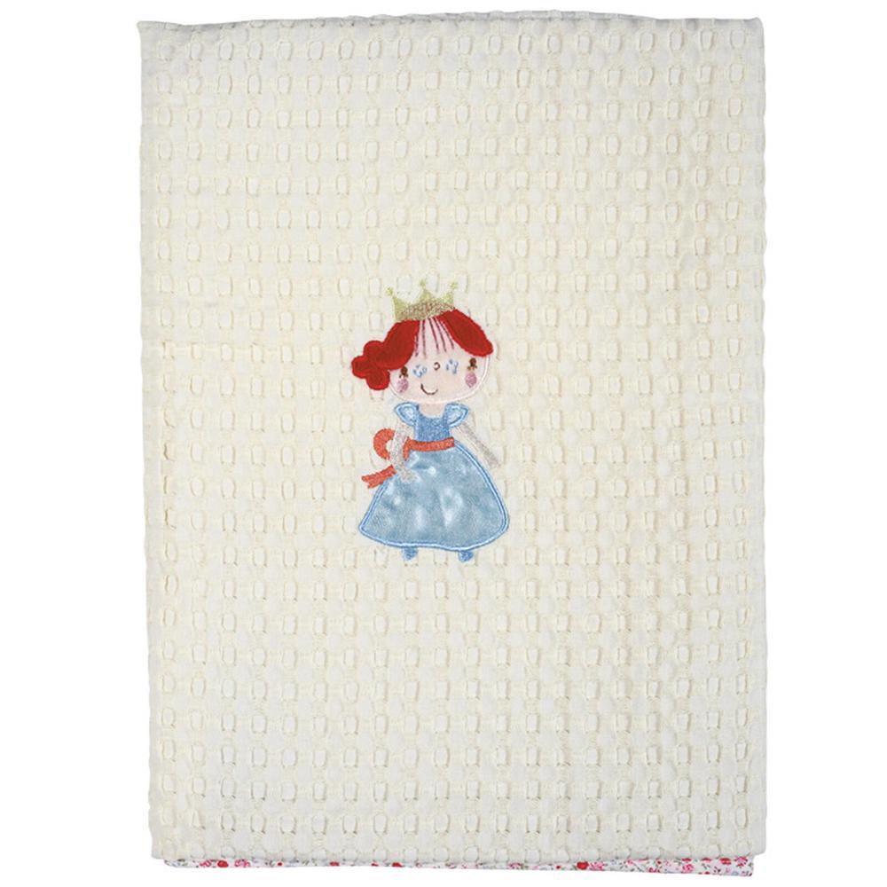 Κουβέρτα Αγκαλιάς Πικέ Μπεμπέ 80×110εκ. Das Baby 6511 – Das Baby – 620511106511
