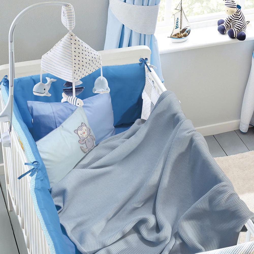 Κουβέρτα Αγκαλιάς Πικέ 80×110εκ. Μπεμπέ Das Baby 6545 – Das Baby – 620511106545