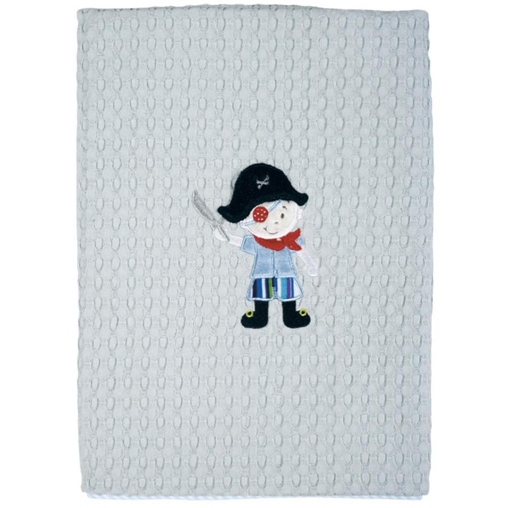 Κουβέρτα Κούνιας Πικέ Μπεμπέ 110×150εκ. Das Baby 6510 – Das Baby – 620511206510