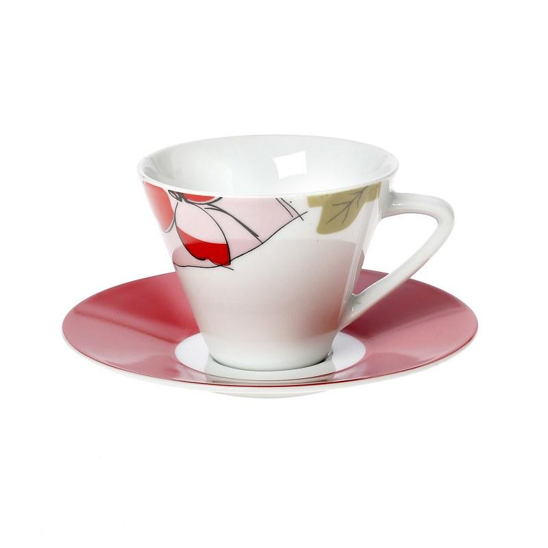 Σετ Φλυτζάνια Καφέ 6τμχ Πορσελάνης Emotion CRYSPO TRIO 25.003.17 (Υλικό: Πορσελάνη) – CRYSPO TRIO – 25.003.17