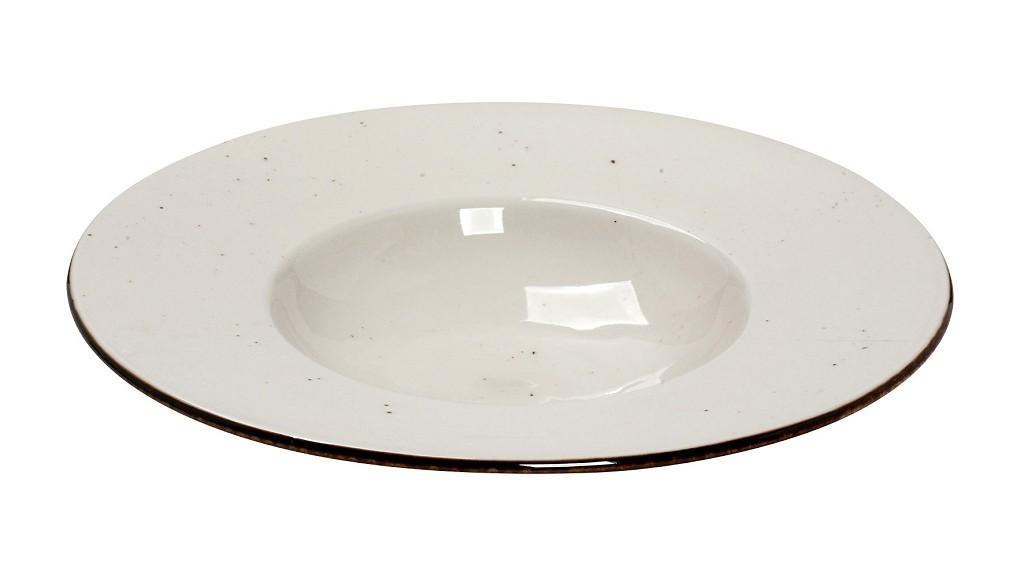 Πιάτο Βαθύ Πορσελάνης Terra Cream ESPIEL 27×4,5εκ. TLK106K6 (Υλικό: Πορσελάνη, Χρώμα: Κρεμ) – ESPIEL – TLK106K6