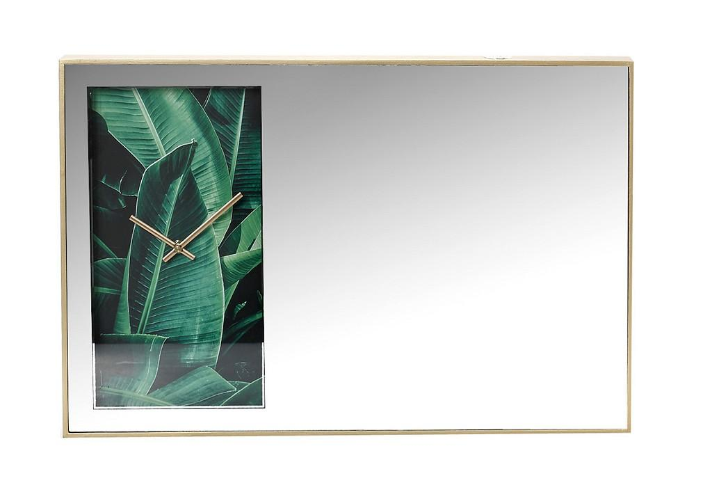 Καθρέπτης-Ρολόι ESPIEL 60x4,5x40εκ. FEC209 - ESPIEL - FEC209 διακοσμηση κουζίνα ρολόγια