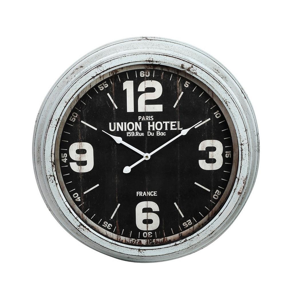 Ρολόι Τοίχου Αντικέ ESPIEL 58x9x58εκ. LOG525 (Χρώμα: Μπεζ) - ESPIEL - LOG525