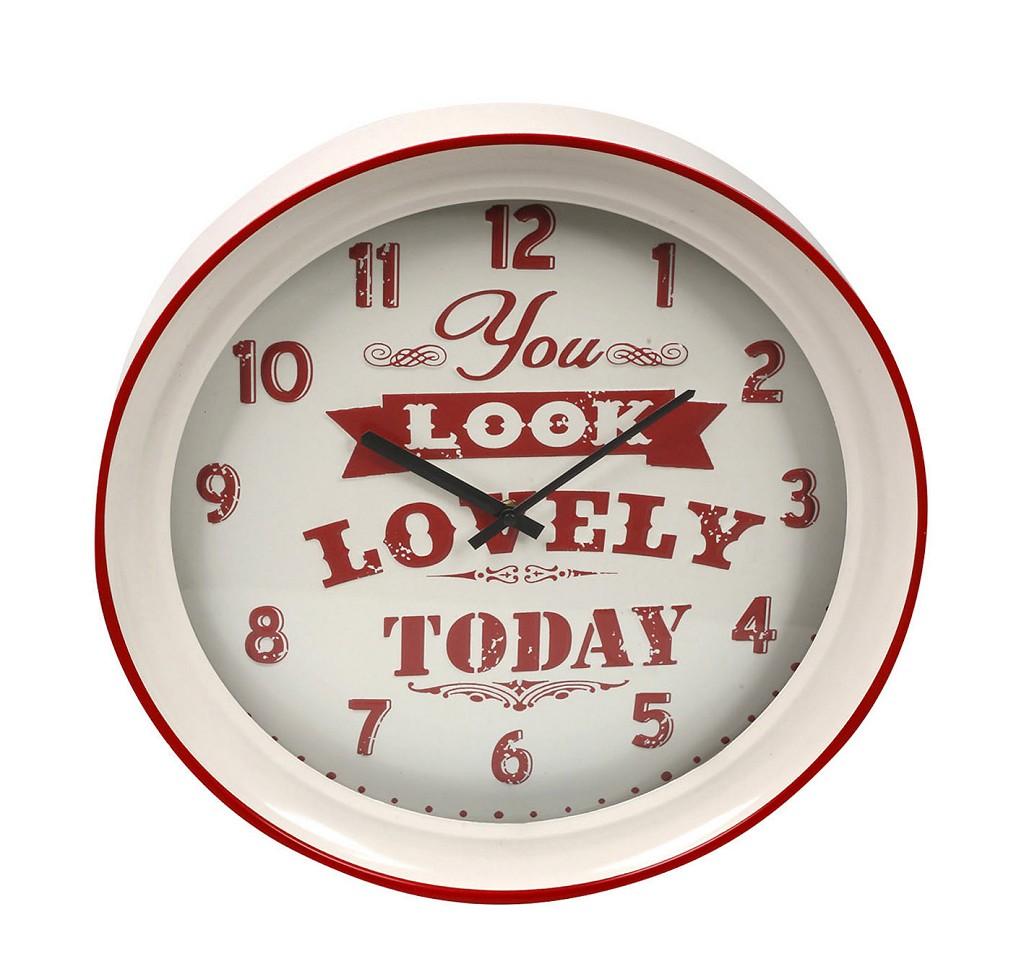Ρολόι Τοίχου ESPIEL 43x7x43εκ. LOG526 – ESPIEL – LOG526
