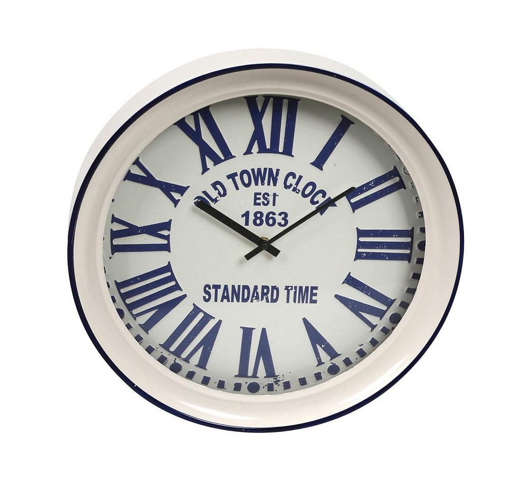 Ρολόι Τοίχου ESPIEL 43x7x43εκ. LOG527 - ESPIEL - LOG527