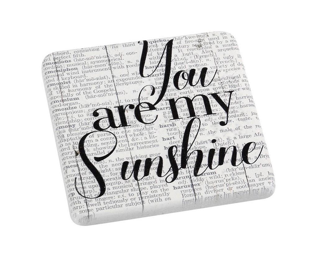 Σουβέρ Σετ 6τμχ «Sunshine» ESPIEL 9,5×0,45×9,5εκ. NIK316 – ESPIEL – NIK316