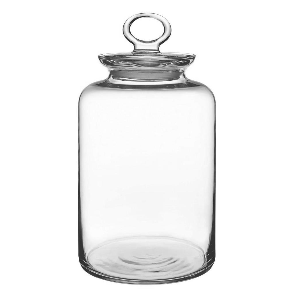 Βάζο Γυάλινο με Καπάκι Δ14,1×26,1εκ. ESPIEL CAM1013 – ESPIEL – CAM1013