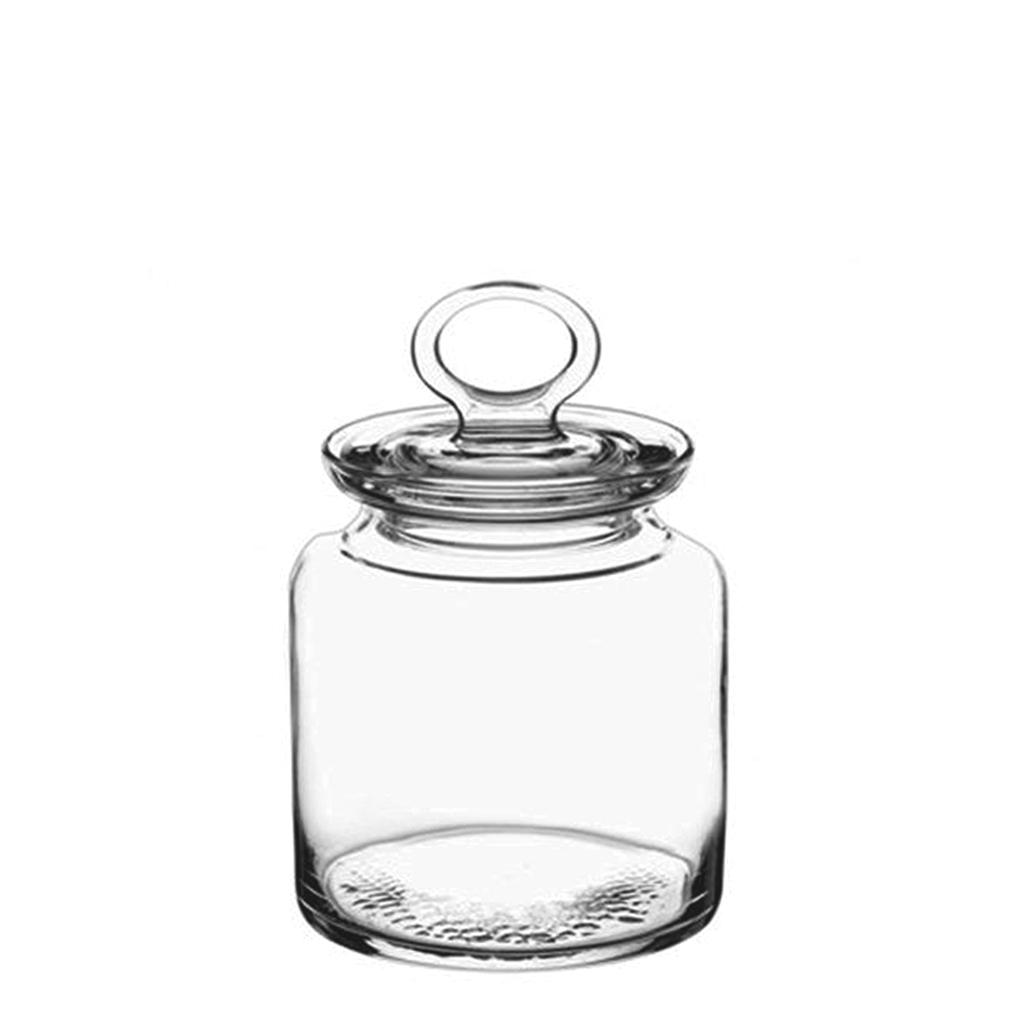 Βάζο Γυάλινο με Καπάκι Δ11,8×18,1εκ. ESPIEL CAM1014 – ESPIEL – CAM1014