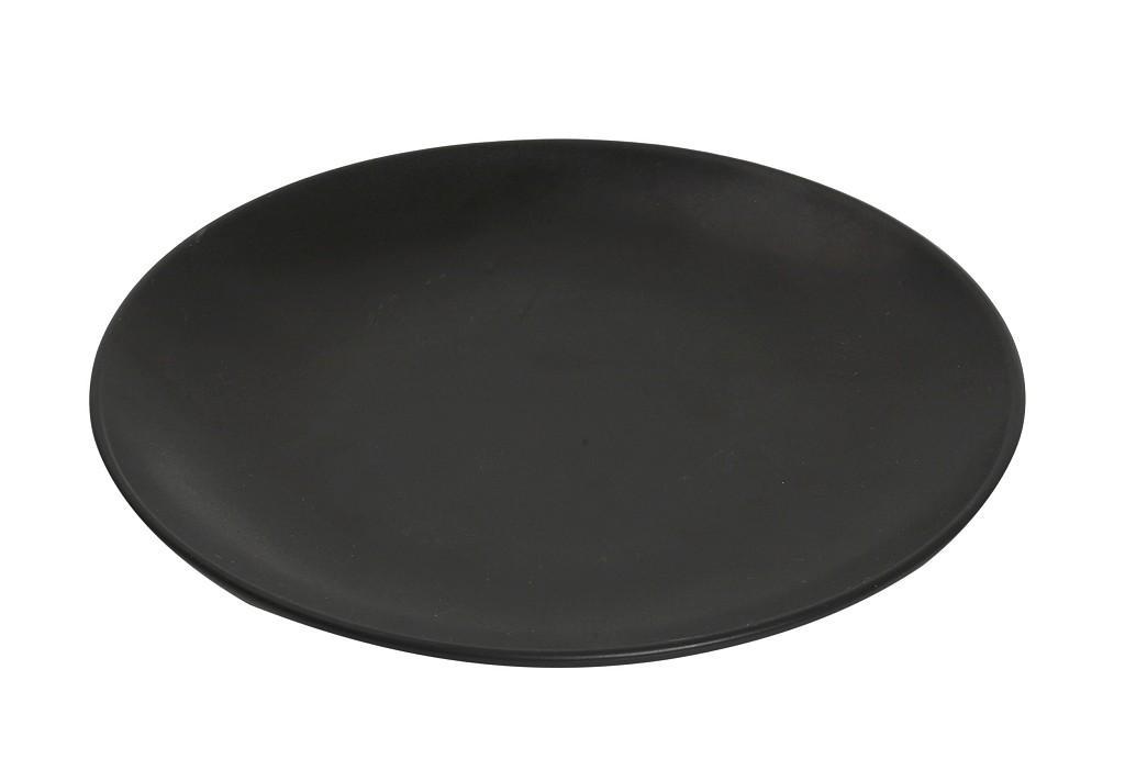 Πιάτο Ρηχό Πορσελάνης Terra Matt Black ESPIEL 26,5εκ. TLM101K6 (Υλικό: Πορσελάνη, Χρώμα: Μαύρο) – ESPIEL – TLM101K6