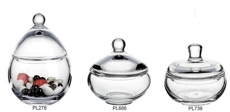 Φοντανιέρα Με Καπάκι ESPIEL 15x15x15εκ. PL686 - ESPIEL - PL686 κουζινα είδη σερβιρίσματος
