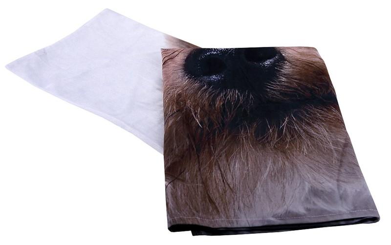 Τραπεζομάντηλο Polyester Σκύλος ESPIEL 120×120εκ. HEM238 (Ύφασμα: Polyester) – ESPIEL – HEM238