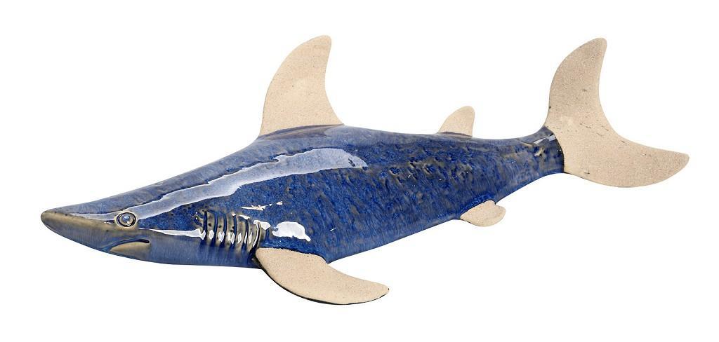 Διακοσμητικό Τοίχου Καρχαρίας ESPIEL 42x21,5x5,5εκ. SIM104 (Χρώμα: Μπλε) - ESPIEL - SIM104