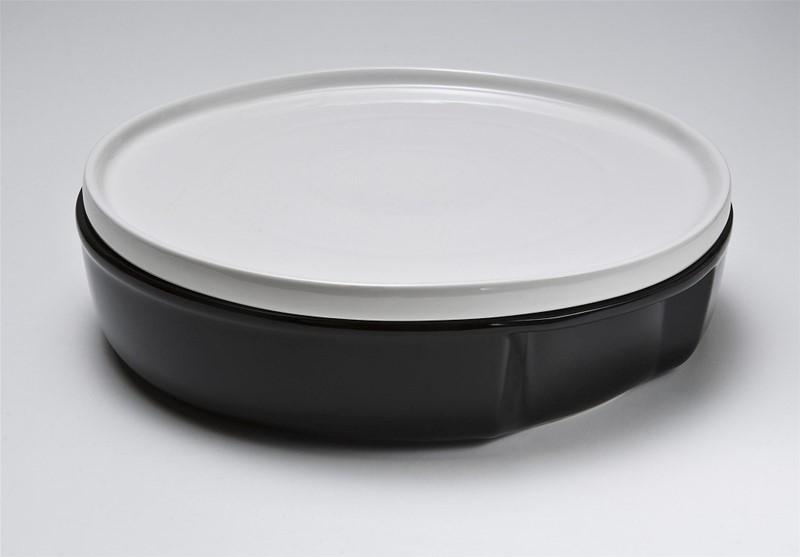 Πυρίμαχο Στρογγυλό Με Καπάκι ESPIEL 30x30x8εκ. BEN5001 - ESPIEL - BEN5001