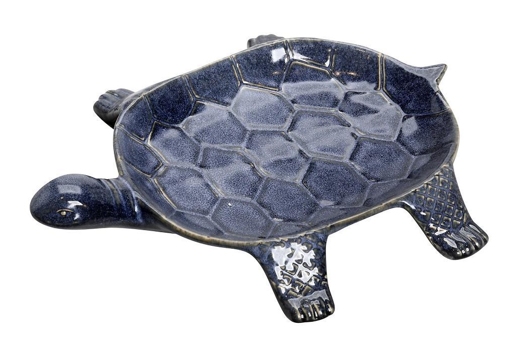 Διακοσμητικό Πιάτο Χελώνα ESPIEL 28,5x24x5εκ. VAT127 (Χρώμα: Μπλε) – ESPIEL – VAT127