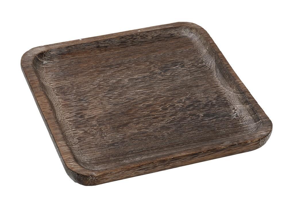 Πλατώ Σερβιρίσματος Ξύλινο ESPIEL 25×5εκ. XYP317 (Υλικό: Ξύλο, Χρώμα: Καφέ) – ESPIEL – XYP317