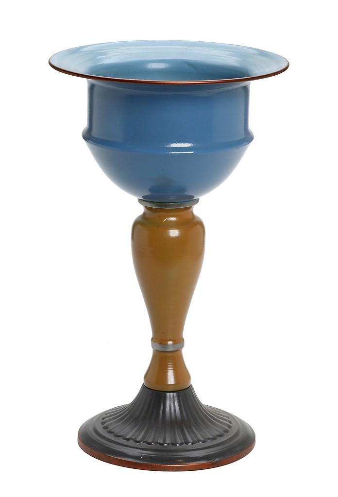 Βάζο Διακοσμητικό Μεταλλικό ESPIEL 22×38εκ. VIN313 – ESPIEL – VIN313