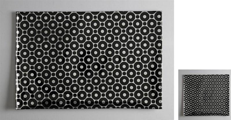 Σουβέρ Σετ 6τμχ Polyester ESPIEL 10×10εκ. HEN208 (Ύφασμα: Polyester) – ESPIEL – HEN208