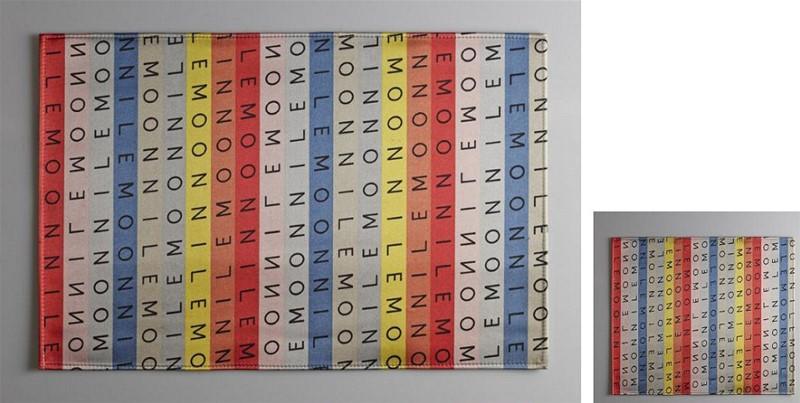 Σουβέρ Σετ 6τμχ Polyester ESPIEL 10×10εκ. HEN219 (Ύφασμα: Polyester) – ESPIEL – HEN219