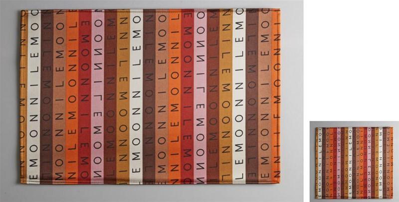 Σουβέρ Σετ 6τμχ Polyester ESPIEL 10×10εκ. HEN221 (Ύφασμα: Polyester) – ESPIEL – HEN221