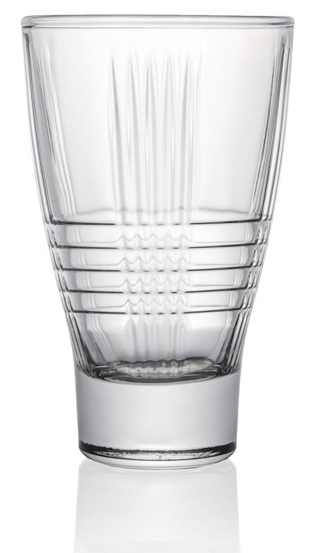 Ποτήρι Νερού Σετ 6τμχ ESPIEL Tavola Crystal 370ml STE75603J - ESPIEL - STE75603J κουζινα ποτήρια