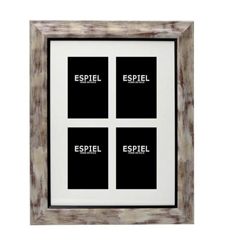 Κορνίζα Τοίχου 4 Θέσεων ESPIEL 48,5×1,5×68,5εκ. ECO340 – ESPIEL – ECO340