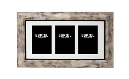Κορνίζα Τοίχου 3 Θέσεων ESPIEL 28,5×1,5×48,5εκ. ECO341 – ESPIEL – ECO341