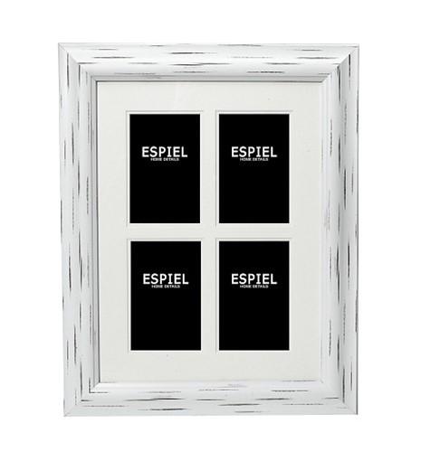 Κορνίζα Τοίχου 4 Θέσεων ESPIEL 63,4×1,6×78,4εκ. ECO346 – ESPIEL – ECO346