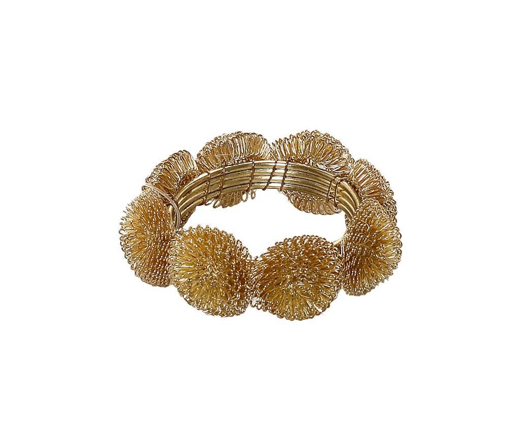 Δαχτυλίδι Πετσέτας Μεταλλικό Χρυσό ESPIEL 5×2εκ. YRA112K6 (Υλικό: Μεταλλικό, Χρώμα: Χρυσό ) – ESPIEL – YRA112K6