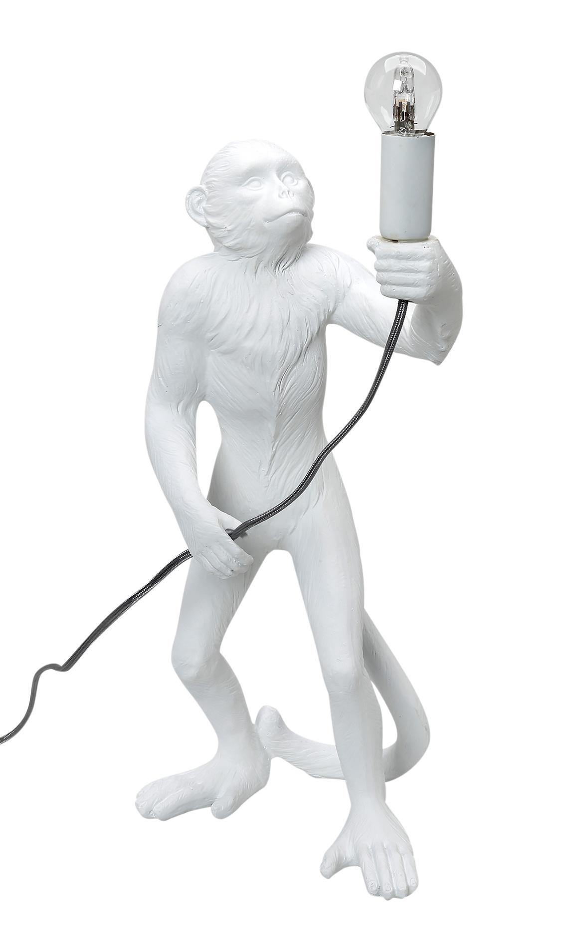 Φωτιστικό Επιτραπέζιο ESPIEL 24x20x49εκ. MAM113 (Χρώμα: Λευκό) - ESPIEL - MAM113