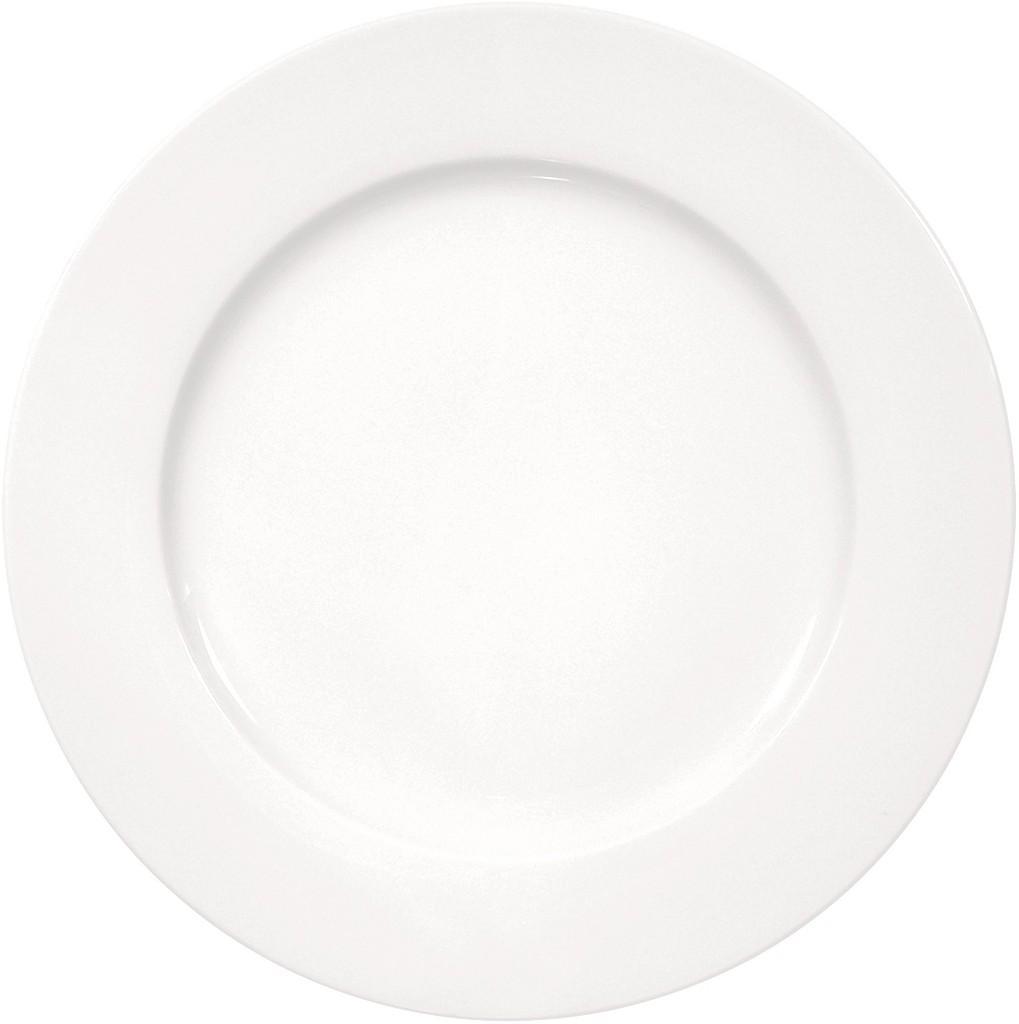 Πιάτο Φρούτου Πορσελάνης Meran Λευκό ESPIEL 20εκ. 001.154013K6 (Υλικό: Πορσελάνη, Χρώμα: Λευκό) – ESPIEL – 001.154013K6