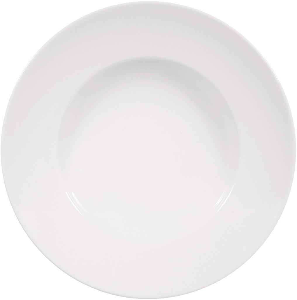 Πιάτο Σπαγγέτι Πορσελάνης Meran Λευκό ESPIEL 27×5,5εκ. 001.167068K2 (Υλικό: Πορσελάνη, Χρώμα: Λευκό) – ESPIEL – 001.167068K2