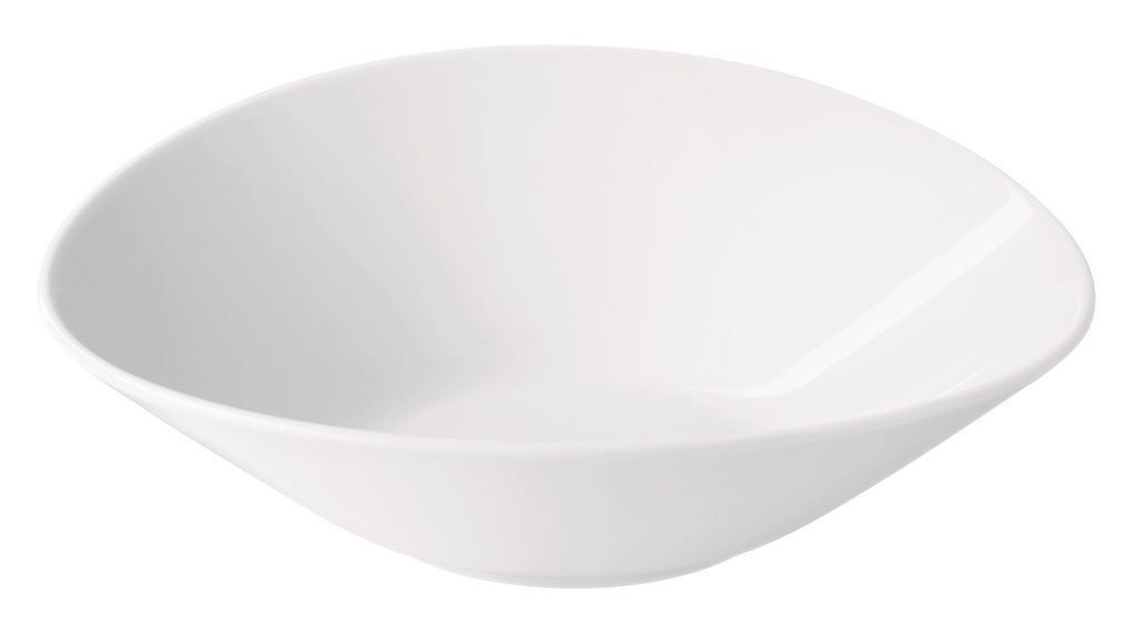 Πιάτο Βαθύ Πορσελάνης Meran Λευκό ESPIEL 24x22x8εκ. 001.725328K2 (Υλικό: Πορσελάνη, Χρώμα: Λευκό) – ESPIEL – 001.725328K2