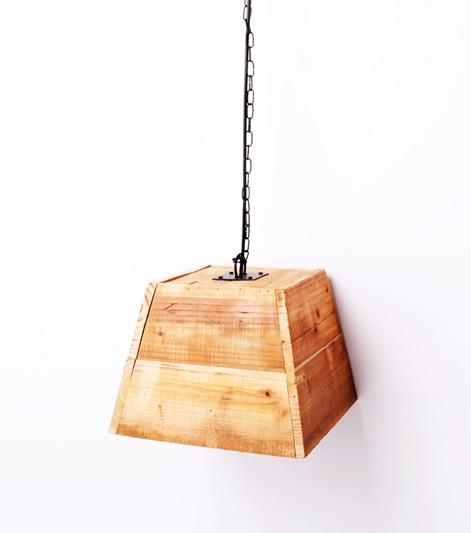 Φωτιστικό Οροφής Ξύλινο ESPIEL 26x26x20εκ. AST822 (Υλικό: Ξύλο) - ESPIEL - AST822