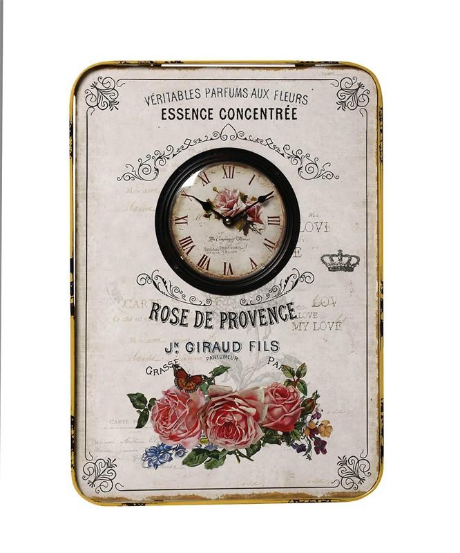 Ρολόι Τοίχου Μεταλλικό ESPIEL 39,5×54,5εκ. LOG418 (Υλικό: Μεταλλικό) – ESPIEL – LOG418