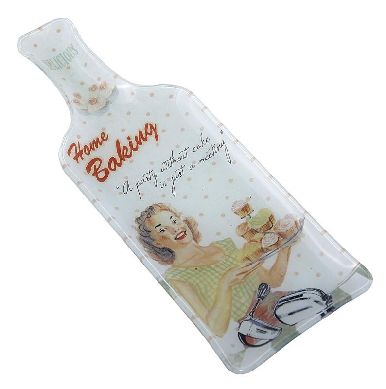 """Πιατέλα Σερβιρίσματος Σετ 6τμχ """"Μπουκάλι"""" ESPIEL 26,5x9,5x1,5εκ. INT8517 - ESPIE κουζινα είδη σερβιρίσματος"""