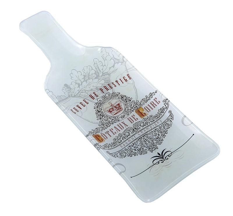 """Πιατέλα Σερβιρίσματος Σετ 6τμχ """"Μπουκάλι"""" ESPIEL 26,5x9,5x1,5εκ. INT8525 - ESPIE κουζινα είδη σερβιρίσματος"""