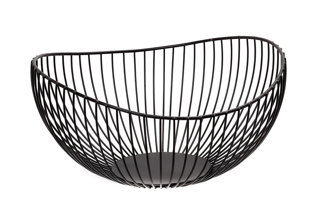 Καλάθι Μεταλλικό ESPIEL 27,5×14εκ. TAK224 (Υλικό: Μεταλλικό, Χρώμα: Μαύρο) – ESPIEL – TAK224