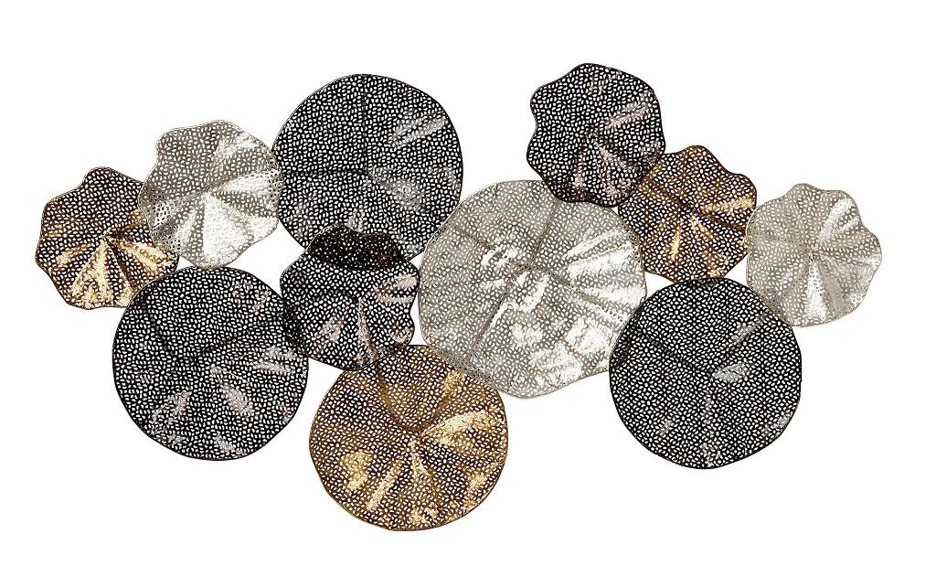 Διακοσμητικό Τοίχου Μεταλλικό ESPIEL 98x6x55εκ. ICY118 (Υλικό: Μεταλλικό) – ESPIEL – ICY118