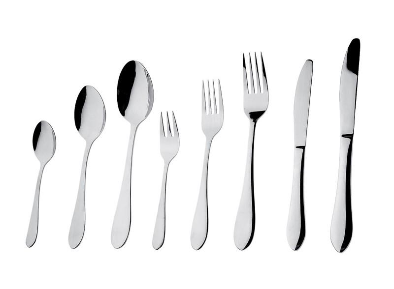 Κουτάλι Φαγητού Ανοξείδωτο 18/0 Prime ESPIEL 20εκ. CUS103K12 (Υλικό: Ανοξείδωτο, Χρώμα: Ασημί ) - ESPIEL - CUS103K12