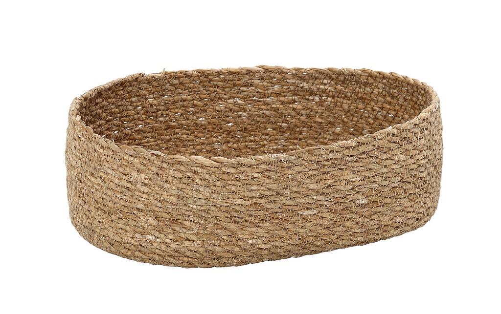 Ψωμιέρα Seagrass ESPIEL 26x16x8εκ. KAG313 (Χρώμα: Μπεζ, Υλικό: Seagrass) – ESPIEL – KAG313
