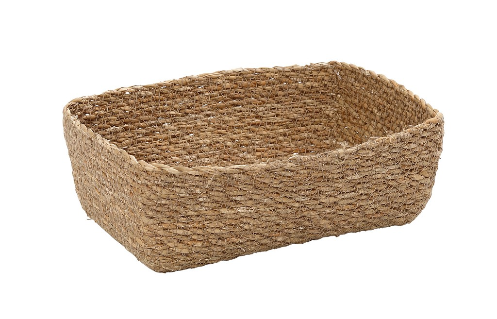 Ψωμιέρα Seagrass ESPIEL 20x14x6εκ. KAG312 (Χρώμα: Μπεζ, Υλικό: Seagrass) – ESPIEL – KAG312