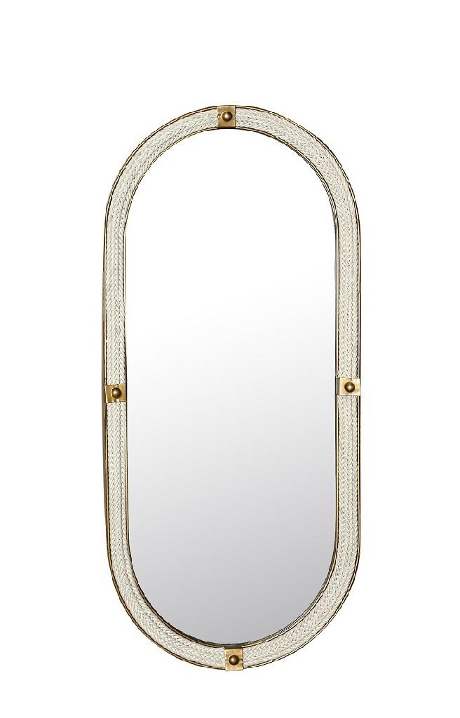 Καθρέπτης Τοίχου Ξύλινος ESPIEL 35,5×4,5×80εκ. AFT116 (Υλικό: Ξύλο) – ESPIEL – AFT116
