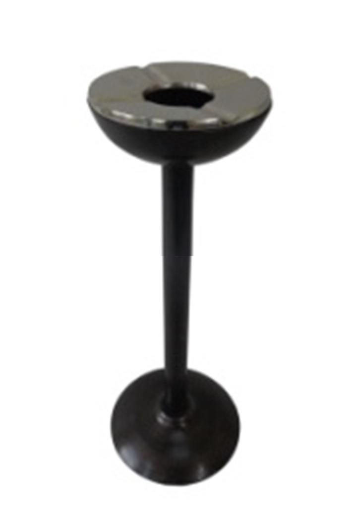 Σταχτοδοχείο Αλουμινίου ESPIEL 24×65εκ. FLA301 (Υλικό: Αλουμίνιο, Χρώμα: Μαύρο) – ESPIEL – FLA301
